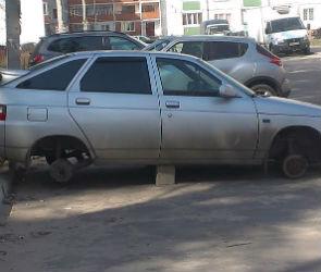 В Северном районе водители каждую ночь рискуют остаться без колес (ФОТО)