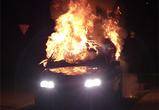 В Воронеже пьяный скутерист из мести сжег машину  брата