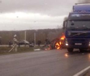 Воронежские водители спасли шестерых раненых в страшном ДТП с пожаром (ВИДЕО)