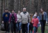 Воронежские волонтеры вышли на экологическую акцию