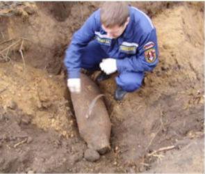 В Воронеже гранату нашли во время прогулки