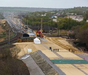 В Воронежской области началось строительство железной дороги в обход Украины