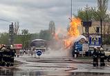 К расследованию пожара на АЗС в Воронеже подключились СКР и прокуратура
