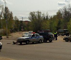 На 9 Января в Воронеже столкнулись автомобиль ГИБДД и «Москвич»  (ФОТО)