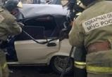 В Лисках ВАЗ на «встречке» протаранил автобус: водитель легковушки погиб