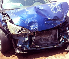 В Воронеже около кладбища пьяный водитель ВАЗ-2107 протаранил пять иномарок
