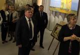 В Воронеже открылась художественная выставка, посвященная Дню Победы