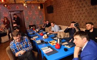 Пресс-завтрак ГАЖ в чайхане «Гранат»