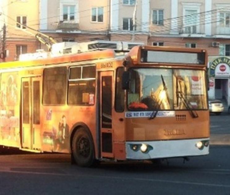 В Воронеже приостановят движение троллейбуса №4