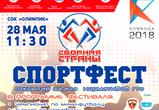 28 мая воронежцев объединит спортивный фестиваль «Сборная Страны»