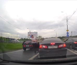 Воронежцы устроили дорожные разборки в Москве