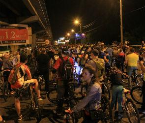 В Воронеже «Велоночь» собрала 10 тысяч участников