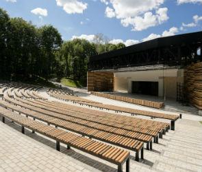 В парке «Динамо» завершилось строительство Зеленого театра
