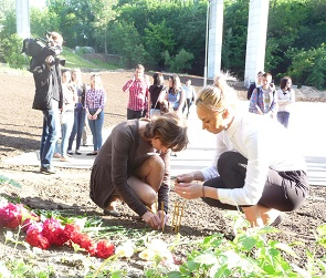 В Воронеже прошла акция памяти убитой Кати Череповецкой