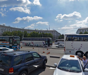 В среду в Воронеже частично перекроют движение рядом с вокзалом