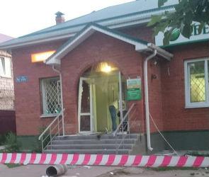 В Новой Усмани ночью взорвали банкомат в Сбербанке