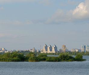 Первый этап расчистки Воронежского водохранилища завершится к зиме