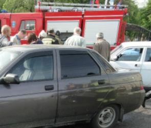 В тройном ДТП в Воронеже пострадали люди