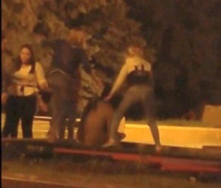 В Воронеже МВД заинтересовалось видео с жестоким избиением мужчины девушками