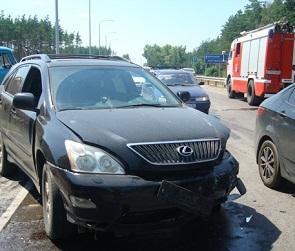 Четверо взрослых и один ребенок пострадали в ДТП с «Лексусом» и ВАЗом в Воронеже