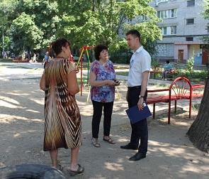 В Воронеже появился еще один благоустроенный сквер