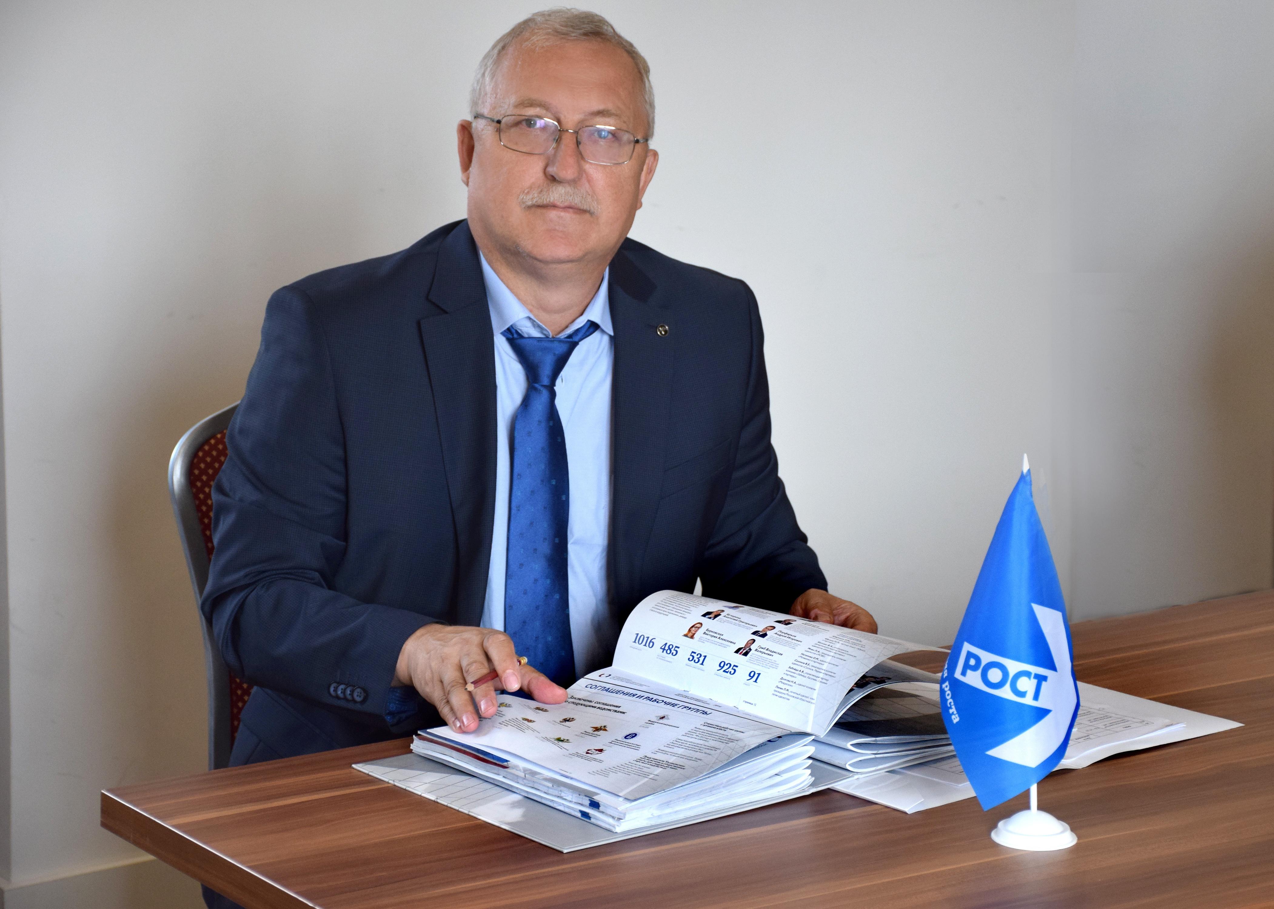 Декан факультета журналистики ВГУ Владимир Тулупов баллотируется в Госдуму