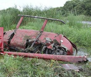 Пять человек пострадали при жесткой посадке вертолета под Воронежем