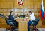 Ситуацию с озером Круглое взял на контроль губернатор Алексей Гордеев