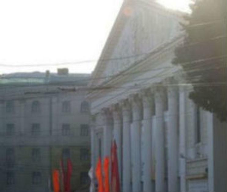 МЧС попросило воронежцев не паниковать во время «пожара» в Театре оперы и балета