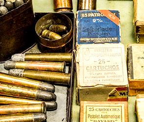 Пенсионер-воронежец может получить 4 года за незаконное хранение боеприпасов