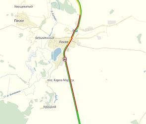 Из-за ДТП с 4 пострадавшими на трассе М-4 образовалась 10-километровая пробка
