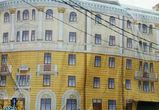 Завешенный баннером дом в центре Воронежа вскоре будет снесен