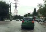 В Сети появилось видео потопа на улице Новгородской в Воронеже