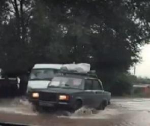 В «РВК-Воронеж» объяснили причины потопа на улице Новгородской