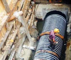 «РВК-Воронеж» продолжает реконструкцию Главного Левобережного коллектора
