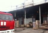 В Воронеже горит склад крупной мебельной компании