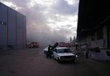 Крупный пожар на складе мебели в Воронеже тушили 19 пожарных расчетов