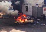 Третий за день автомобильный пожар в Воронеже: на Остужева у «Линии» горел Опель