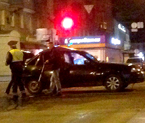 Стали известны детали ночного ДТП в центре Воронежа с двумя пострадавшими