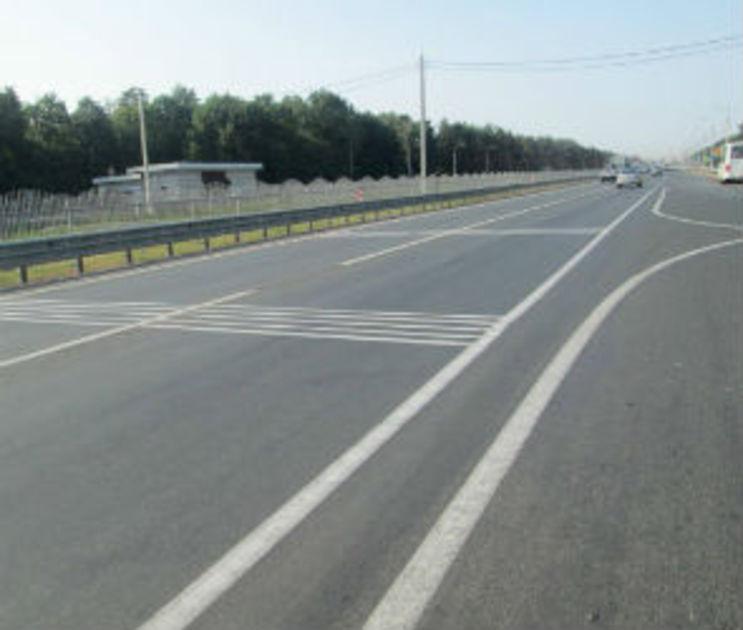 На подъезде к Воронежу дорогу расширят на одну полосу