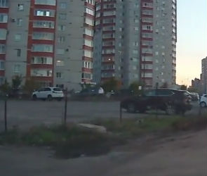 Незаконную парковку на Владимира Невского восстановили через три дня после сноса