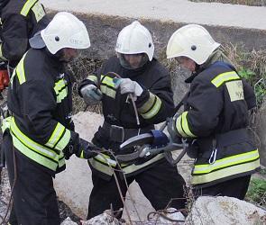 Воронежские спасатели ликвидировали последствия «взрыва» в санатории