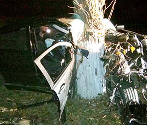 Появились фото страшного ДТП под Воронежем на М-4: погиб 19-летний водитель БМВ