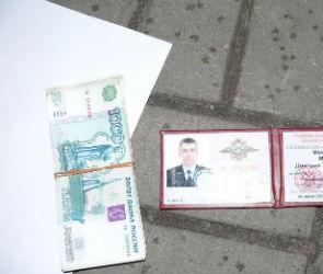 В Воронеже сотрудник отдела по борьбе с коррупцией попался на взятке