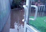 Из-за отсутствия ливневки частный сектор в Воронеже уходит под воду