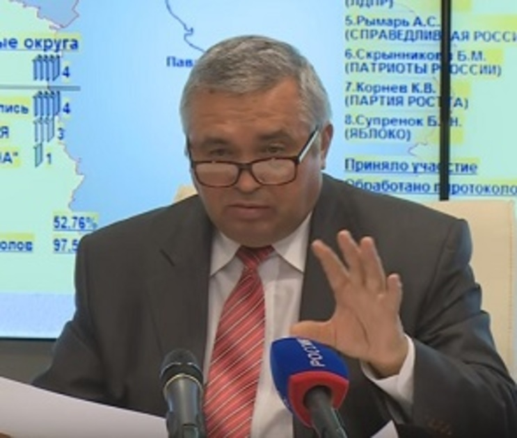 Владимир Селянин вышел из состава избиркома Воронежской области