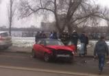 На набережной Массалитинова кроссовер протаранил Audi с девушкой за рулем