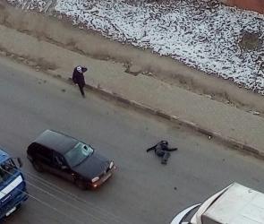 В Воронеже на видео попали последствия ДТП со сбитым пешеходом