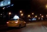 Воронежцы сняли на видео грубое нарушение ПДД водителем «Яндекс Такси»