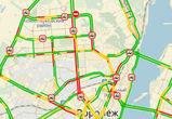 Воронеж в пятницу утром парализовали пробки